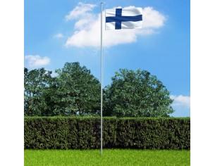 Drapel Finlanda si stalp...