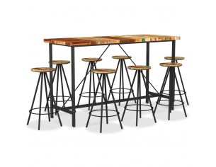 Set mobilier de bar, 9...