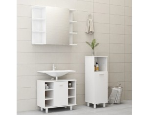 Set mobilier baie, 3 piese,...