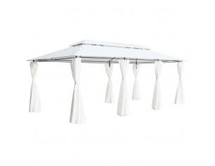 Pavilion cu perdele, alb,...
