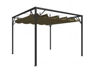 Pavilion gradina, acoperis...