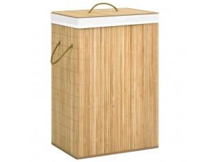 Cos de rufe din bambus, 72 L
