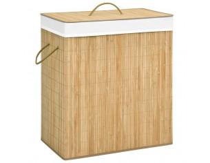 Cos de rufe din bambus, 100 L