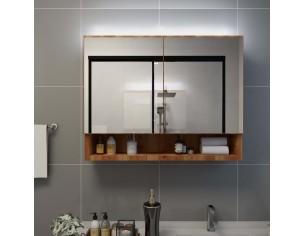 Dulap de baie cu oglinda si...