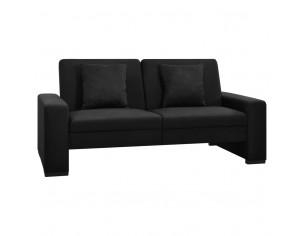 Canapea extensibila, negru,...