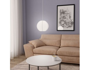 Lampa suspendata, alb, Ø30...