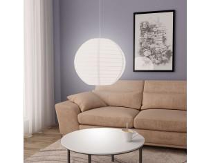 Lampa suspendata, alb, Ø60...