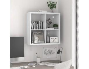 Raft cubic de perete, alb,...