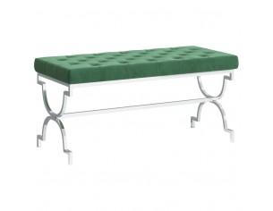 Banca, verde inchis, 99 cm,...