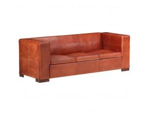 Canapea cu 3 locuri, maro...