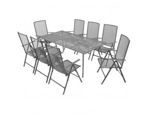 Set mobilier exterior cu...