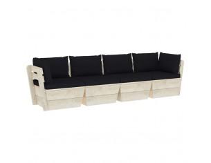 Canapea gradina din paleti,...
