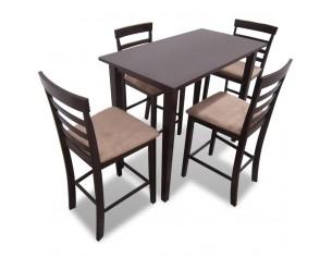 Set masa si 4 scaune de bar...