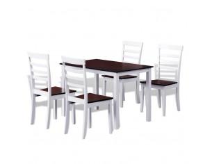 Set masa cu 4 scaune din...