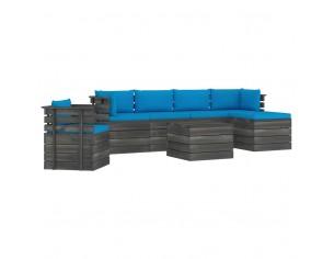 Set mobilier gradina paleti...