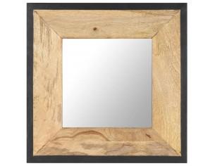 Oglinda 50x50 cm, lemn...