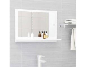 Oglinda de baie, alb, 60 x...