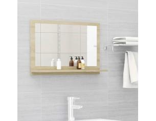 Oglinda de baie, stejar...