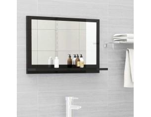 Oglinda de baie, negru, 60...