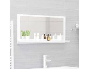 Oglinda de baie, alb, 80 x...