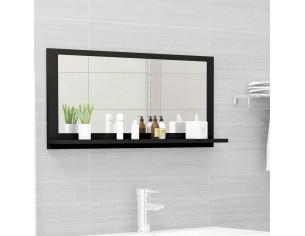 Oglinda de baie, negru, 80...