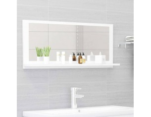 Oglinda de baie, alb, 90 x...