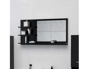 Oglinda de baie, negru, 90...