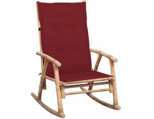 Balansoar cu perna, bambus