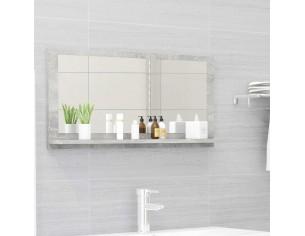 Oglinda de baie, gri beton,...