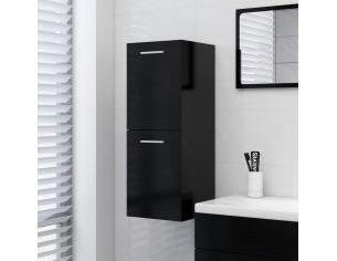 Dulap de baie, negru, 30 x...