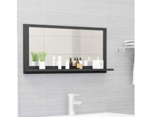 Oglinda de baie, gri, 80 x...