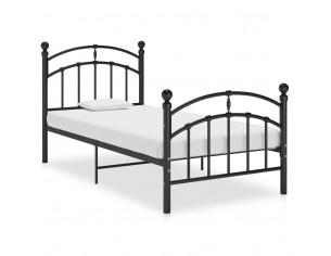 Cadru de pat, negru, 90x200...
