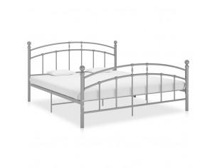 Cadru de pat, gri, 140 x...