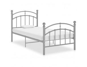 Cadru de pat, gri, 90x200...