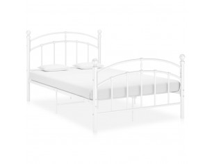 Cadru de pat, alb, 120x200...
