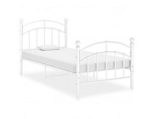 Cadru de pat, alb, 100x200...