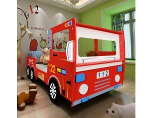 Pat copii masina pompieri,...
