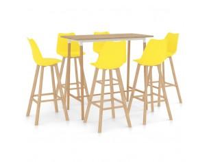 Set mobilier de bar, 7...