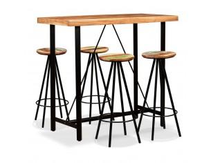 Set mobilier de bar 5 piese...