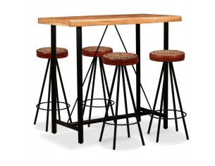 Set mobilier bar, 5 piese,...