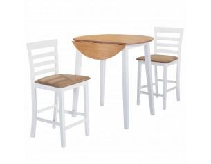 Set masa si scaune de bar 3...