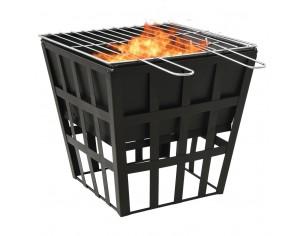 Vatra de foc 2-in-1 cu...