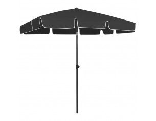 Umbrela de plaja, negru,...