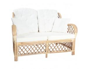 Canapea de 2 locuri, ratan