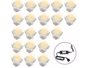 Lampi solare pentru sol cu...