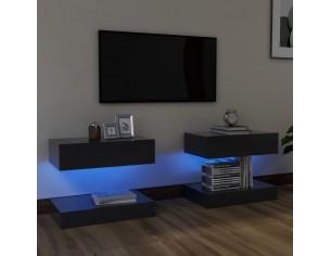 Comode TV cu lumini LED, 2...