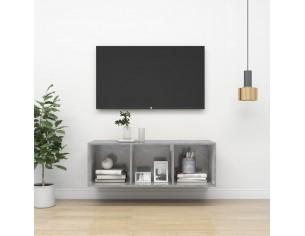 Dulap TV montat pe perete,...