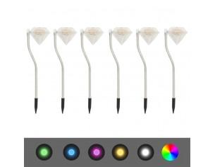 Lampi solare cu LED pentru...