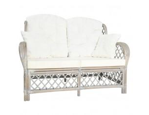 Canapea de 2 locuri, gri,...