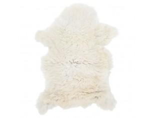 Piele de oaie, crem, 70x100 cm